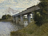 Claude Monet - The Railroad bridge in Argenteuil - Google Art Project.jpg