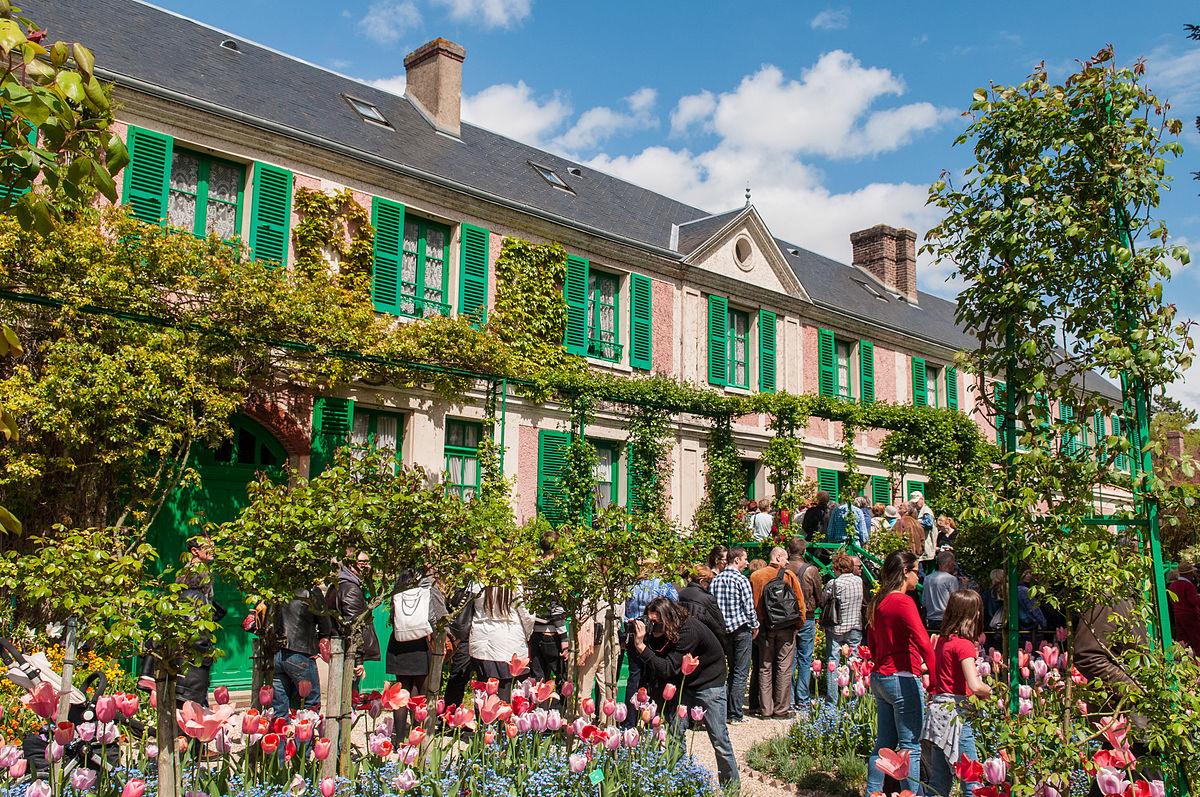 Giverny wikivoyage le guide de voyage et de tourisme for Monet house