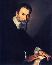 Painting of Claudio Monteverdi