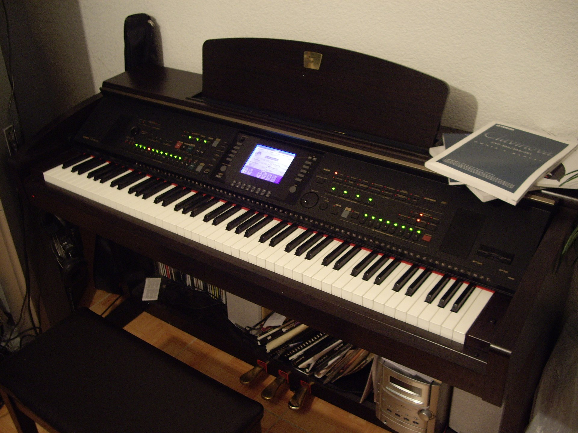 Clavinova wikipedia for Yamaha cvp 303