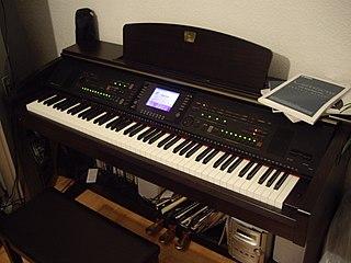 Clavinova productline of digital pianos