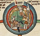 Cnut the Great - MS Royal 14 B VI.jpg