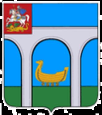 Mytishchi - Image: Coat of Arms of Mytishchi rural settlement (Moscow Oblast)