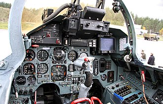 Sukhoi Su-27 - Cockpit