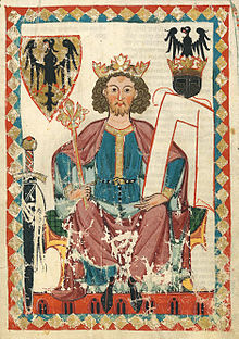 Henri VI (Codex Manesse, v. 1300)