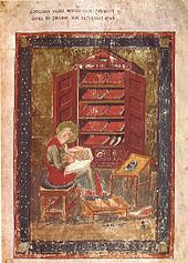 Book wikipedia the codex amiatinus anachronistically depicts the biblical ezra with the kind of books used in the 8th century ad fandeluxe