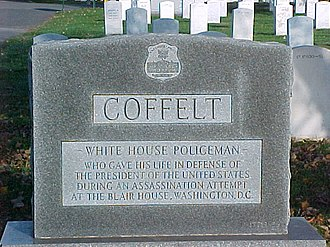 Leslie Coffelt - Coffelt's tombstone at Arlington National Cemetery
