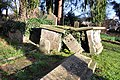 Collapsed tomb - Parish Church of St. Illtyd - Llantrithyd - geograph.org.uk - 1615826.jpg