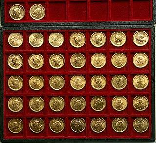 Pahlavi Gold Coins
