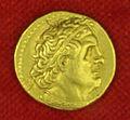 Collezione di william currie 15 egitto, tolomeo I, pentadracma, 323-285 ac ca..JPG