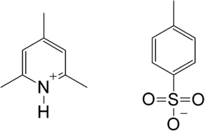 Collidinium p-toluenesulfonate - Image: Collidinium p toluenesulfonate