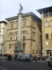 Column of Justice, Florence