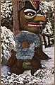 "Color post card. ""1923-An Eskimo Teddy Bear."" (Eskimo baby sleeping at foot of a totem pole. - NARA - 297749.jpg"