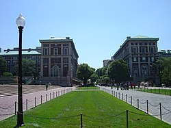 Columbia University College Walk