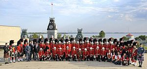 Royal Military College of Canada Bands - Massed band, Royal Military College of Canada