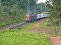 Comboio que passava sentido Boa Vista pelo pátio da Estação Ferroviária de Salto - Variante Boa Vista-Guaianã km 211 - panoramio.jpg