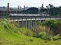 Comboio que passava sentido Boa Vista pelo viaduto ferroviário no vale do Córrego Guaraú em Salto - Variante Boa Vista-Guaianã km 204 - panoramio (1).jpg