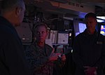 Commander, 3rd Fleet speaks with USS Nimitz (CVN 68) commanding officer 161122-N-MH057-086.jpg