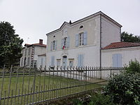 Commensacq (Landes) mairie.JPG