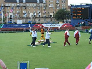 Alex Marshall (bowls) Scottish lawn bowls player