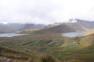 Alausí Canton - Ozogoche lakes