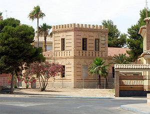 San Pedro del Pinatar, Spain - Count Villar de Felices' palace.