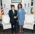 Condoleezza Rice et Kantathee Supamongkol.jpg