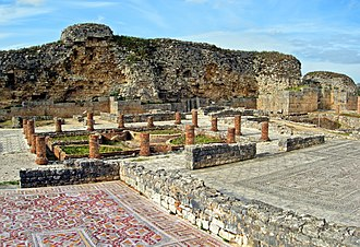 Centro Region, Portugal - The ancient ruins at Conímbriga, the best preserved ruins in the ancient Roman province of Lusitania.