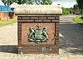 Connswater Bridge plaque, Belfast - geograph.org.uk - 1420110.jpg