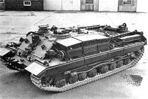 Armoured recovery vehicle - A British Conqueror Armoured Recovery Vehicle 2