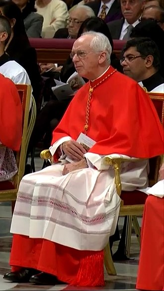 Jozef De Kesel - De Kesel at his elevation to the cardinalate at the consistory