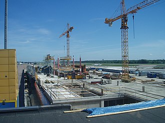 Tallinn Airport - Construction of the terminal expansion