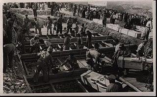 Kfar Etzion massacre event in the Israeli War of Independence