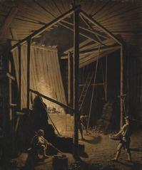 Copper Foundry at the Falun Mine