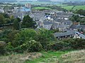 Corfe Castle Village from East Hill - geograph.org.uk - 1052417.jpg