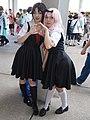 Cosplayers of Kaguya Shinomiya and Chika Fujiwara 20190728c.jpg