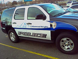 Cottonwood Heights, Utah - One of several vehicles used by the Cottonwood Heights Police.