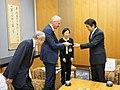 Courtesy Call on Prime Minister Shinzo Abe (34182981214).jpg