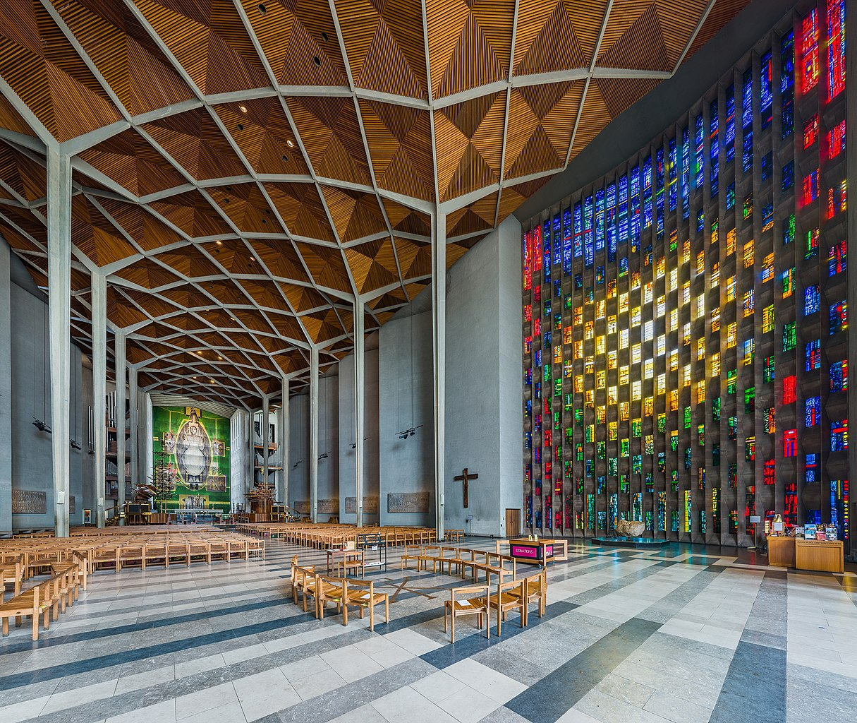 File coventry cathedral interior west midlands uk for The coventry
