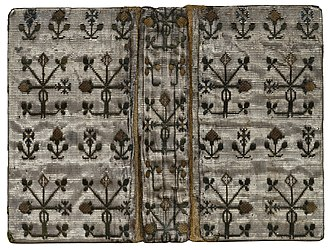 Embroidered binding - Image: Covers, STC 11317
