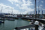 Cowes Yacht Haven during Cowes Week 2011 8.JPG