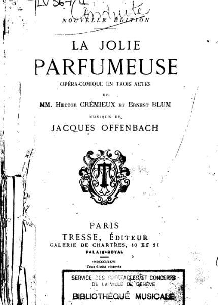 File:Crémieux et Blum, La Jolie Parfumeuse.djvu