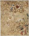 Cristo risorto appare alla Vergine (disegno) - Francesco Albani.jpg