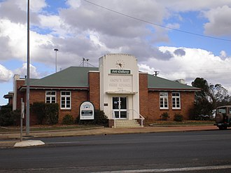 Crows Nest, Queensland - Former Council chambers, now an art gallery