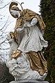 Csákánydoroszló, Nepomuki Szent János-szobor 2021 07.jpg