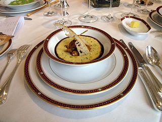 <i>Haute cuisine</i> high level cuisine