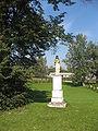Czyzow palace statue 2.jpg