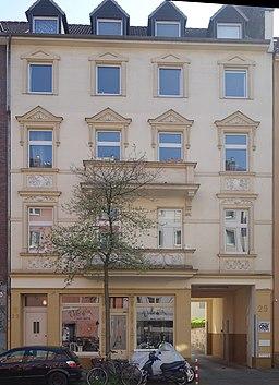 Germaniastraße in Düsseldorf