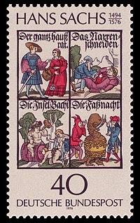 Briefmarke 1976 zum 400. Todestag (Quelle: Wikimedia)