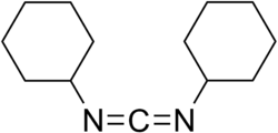 Strukturformel Dicyclohexylcarbodiimid
